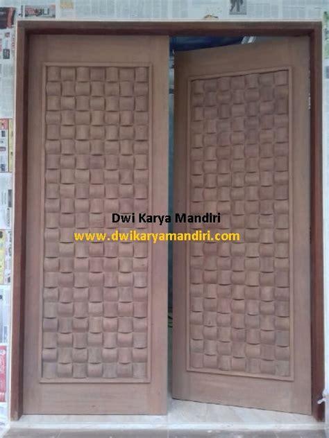 Daun Pintu Multiplek Lapis Hpl berbagai jenis pintu panil kayu pk dwi karya mandiri