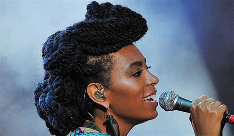 hairstyles with marley hair updos solange knowles braids from bun to butt length to beads