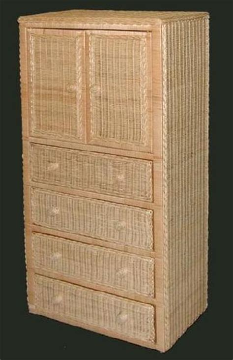 wicker armoire wicker org wicker furniture wardrobe armoire chifferobe