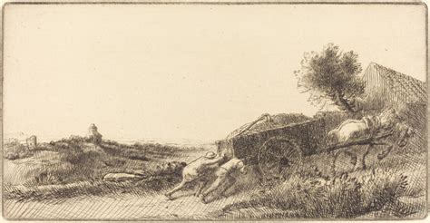 hay le alphonse legros returning with the hay rentrant le foin