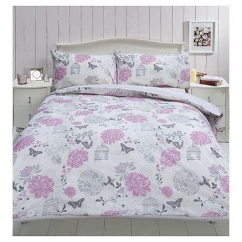 tesco bed linen duvet covers buy tesco birdcage print duvet set from our king duvet