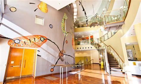 Tafe Interior Design by Building Atrium With Artwork Interior Design Courses