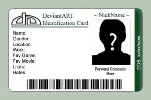 identification card templates free id card template cyberuse
