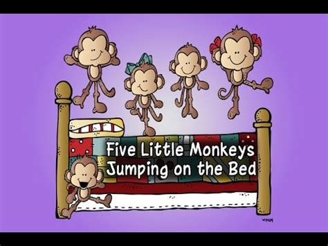 five little monkeys jumping on the bed youtube 5 little monkeys jumping on the bed 5 little monkeys