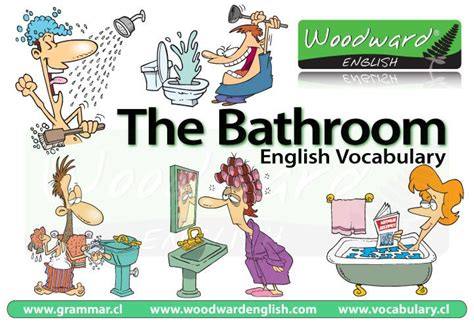 english word for bathroom bathroom vocabulary in english english vocabulary