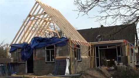 dak constructie bouwval dakconstructie youtube