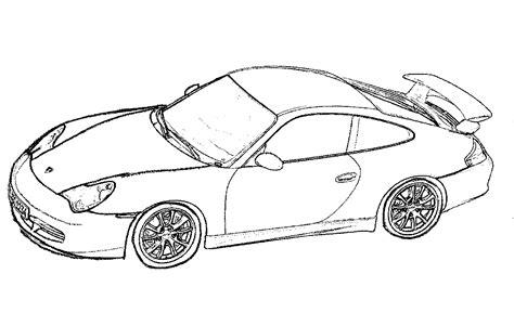 Porsche Coloring Pages Coloring Home Porsche Coloring Pages