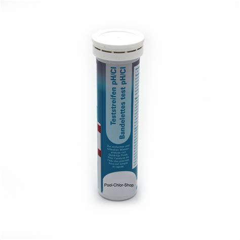chlor shop wasserteststreifen chlor und ph in premium qualit 228 t pool
