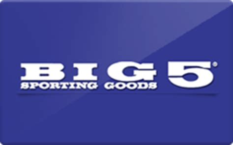 Big Five Gift Card - buy big 5 sporting goods gift cards raise