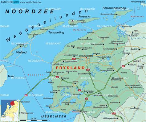map ijsselmeer netherlands map of frysland netherlands map in the atlas of the