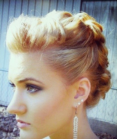 everyday up hairstyles for short hair casual half updos for short hair hollywood official