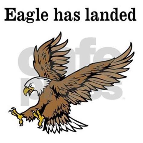 The Eagle Has Landed by The Eagle Has Landed Aluminum License Plate By 4my2ks