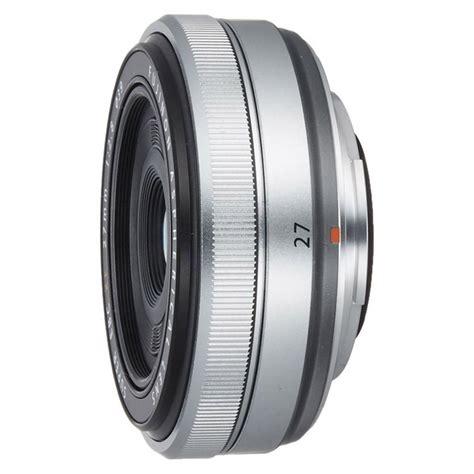 Fujifilm Xf27mm F 2 8 lens fujifilm xf27mm f2 8 silver