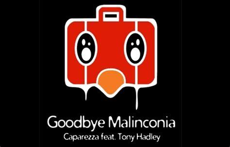 testo goodbye caparezza goodbye malinconia nuovo singolo 2011