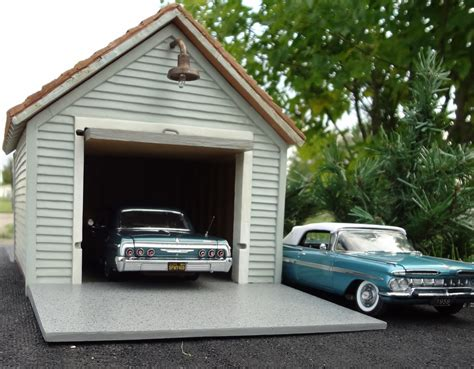 Single Car Garages Single Car Garage This 1 24 Scale Building Was Issued By