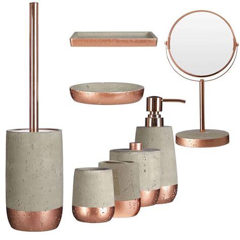 8 pcs new design neptune bathroom accessory set copper and