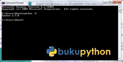 tutorial python windows menginstall python di windows linux tutorial 2 buku