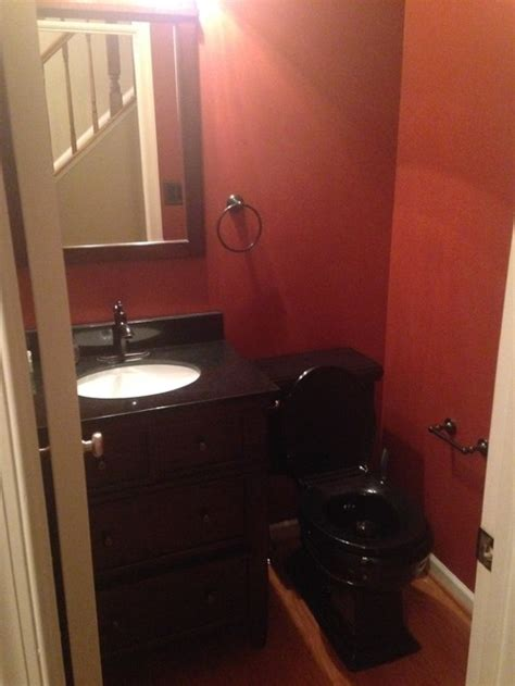black toilet bathroom design dark bathroom with black toilet help with color decor ideas