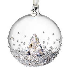 2013 swarovski christmas ball crystal ornament sterling