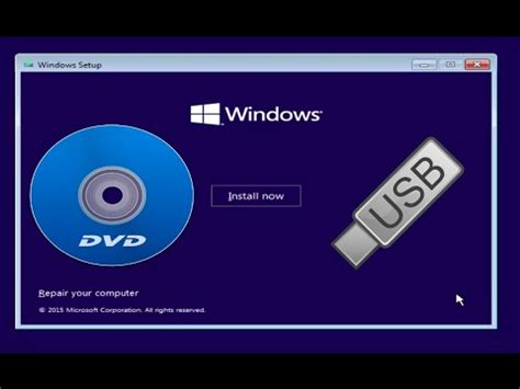install windows 10 dvd how to install windows 10 8 1 7 from a dvd or usb drive