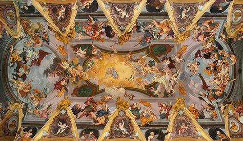 Who Began The Tradition Of Illusionistic Ceiling Painting by File Baroque Ceiling Frescoes Ljubljana Cathedral Jpg
