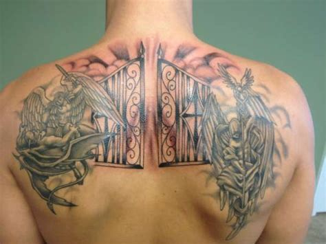 seven gates tattoo 12 gates of heaven pearly gates of heaven