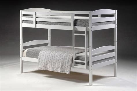 White Single Bunk Beds Cosmos White Single Bunk Beds Nz Lifestyle Imports