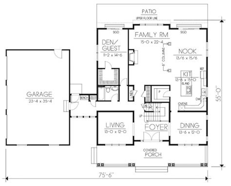 ranch house plans mackay 30 459 associated designs craftsman style house plan 5 beds 3 baths 3505 sq ft