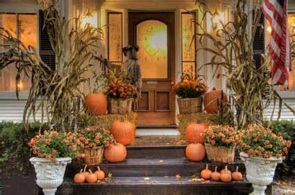 fall decorations for outside the home outdoor halloween decorations for fright and fun
