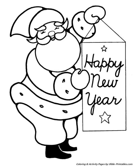 religious new year coloring pages kindergarten worksheets for new year new calendar