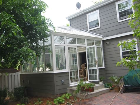 small conservatory at a home in minneapolis porch