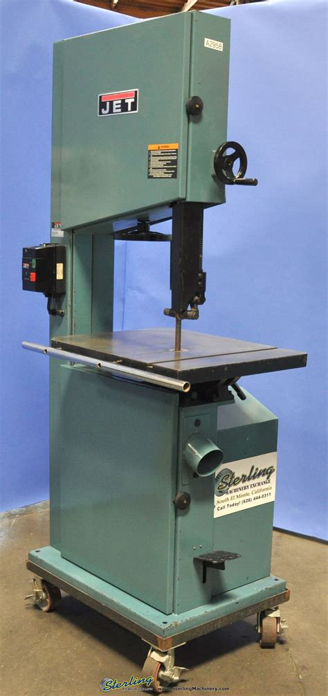 woodworking bandsaw used jet vertical bandsaw woodworking sterling