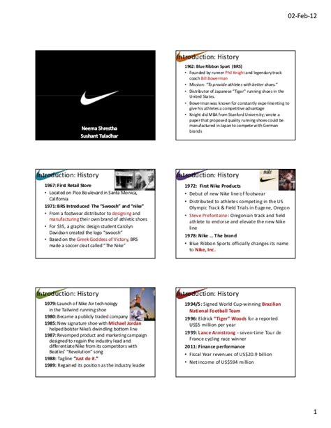 Mba Brand Management Syllabus by Nike Brand Management