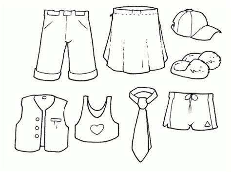 imagenes para colorear ropa diversas imagenes de ropa para colorear y recortar