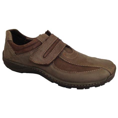 velcro shoes for josef seibel mens arthur brown velcro shoes