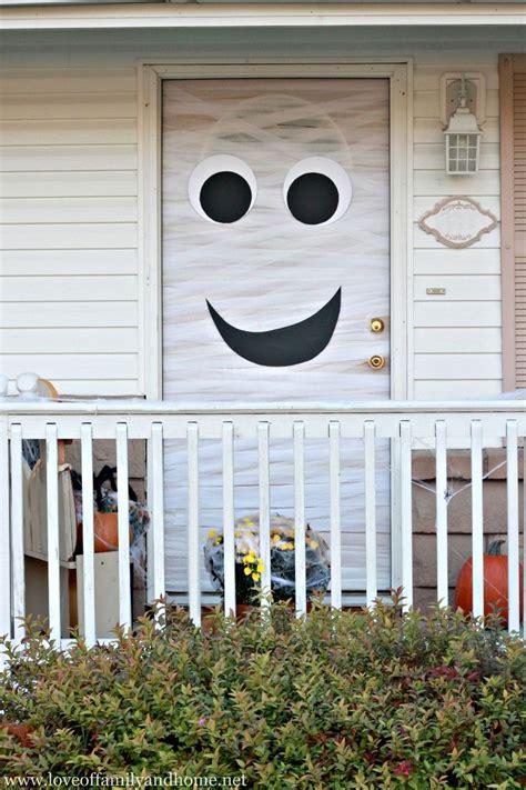 Banister Knob 50 Best Halloween Door Decorations For 2017