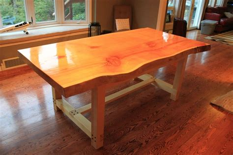 cedar dining room table pin by tyler bittle on for the bachelor pad pinterest