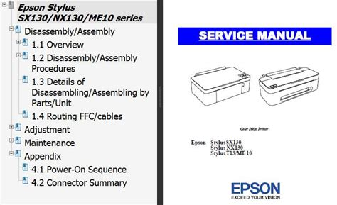 me10 resetter free download epson sx130 nx130 t13 me10 printers service manual new