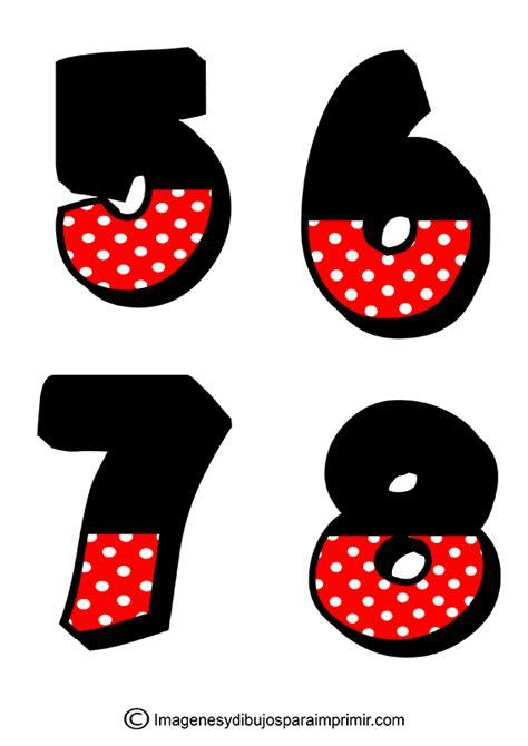 numeros para decorar n 250 meros de mickey mouse para imprimir en pdf imagenes y