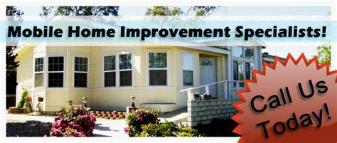 mobile home improvement home repair remodeling