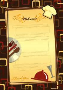 menu templates free 25 free restaurant menu templates