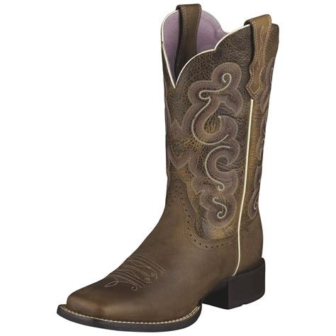 womans boots s ariat 174 11 quot quickdraw western boots 216123
