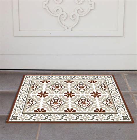 tile pattern rug free shipping tiles pattern decorative pvc vinyl mat
