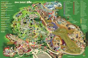 Map Of San Diego Zoo map san diego zoo
