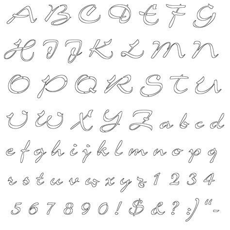 fancy alphabet letter templates fancy letters stencils graffiti drawing stencils