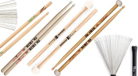 Drum Stick Brush the best drum sticks brushes mallets gearank