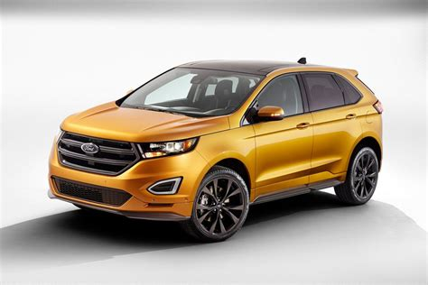 ford reveals all new 2015 edge crossover the new york times