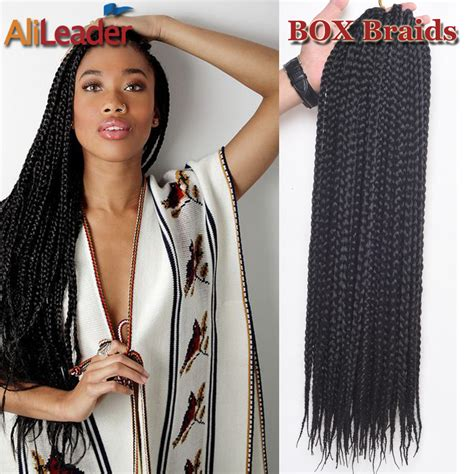 what to do with one pack of kanekalon hair box braids hair promotion shop for promotional box braids