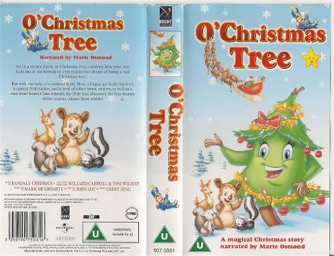 o christmas tree dvd o tree vhs at shop ireland