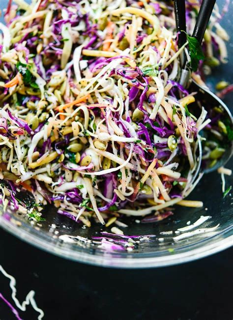 printable coleslaw recipes simple healthy coleslaw recipe cookie and kate